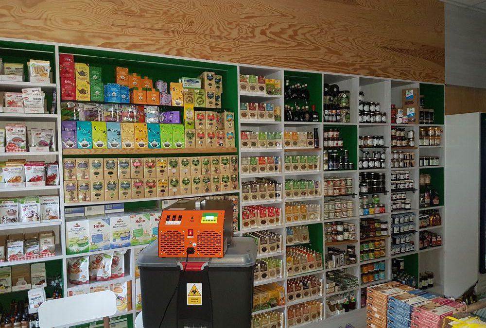 Dezynfekcja sklepu z eko żywnością we Wrocławiu